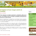 Biodisol cubre el Proyecto Biodiésel Antigua